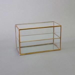 【再入荷】[ガラスケース]BRASSフレームガラスケースシャンブル