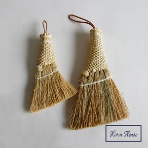 Sorghum Desktop Broom Rope