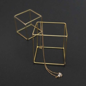 Brass Display Cube