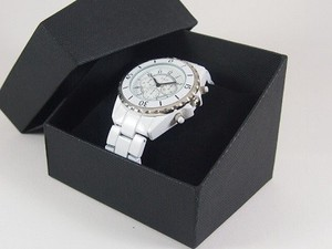 Clock/Watch Box Cushion Attached Outer Box Attached Present Display