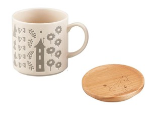 The Moomins Wooden Coaster Mug The Moomins