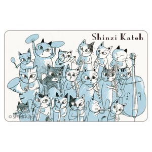 Cat Orchestra 1Sheet Card SEAL