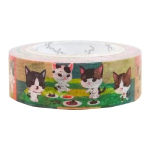 Cat Play Washi Tape