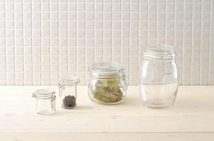 【ガラス】グラスジャー スパイスポット【保存瓶】