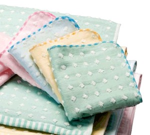 4 Colors Towel Gauze Dot