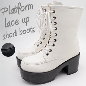 Lace Short Boots Cosplay Ladies