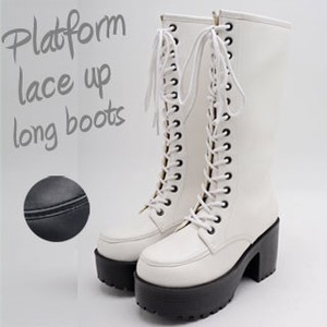 Lace Long Boots Cosplay Ladies