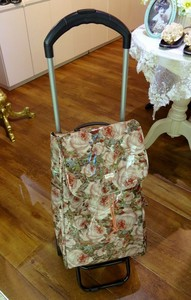 Redoute Trolley Bag Rose Rose