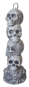 Skull Incense stand