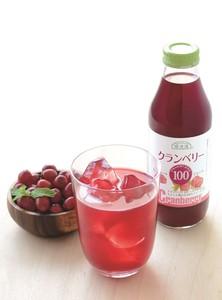 女性の快適応援 100%クランベリージュース(500ml)【原産国:日本】