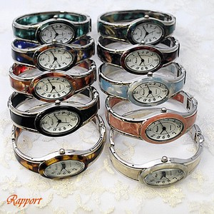 Pole Watch Design Oval Bangle Watch Oval Dial Silver Type