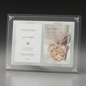 Glass Photo Frame Open