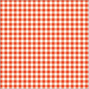 Wrapper Retro Gingham Half Sheet Whole Sheet