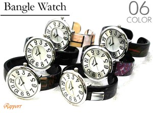 Colorful Plastic Bangle Watch Ladies Wrist Watch