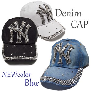 Stone Attached Cap Hats & Cap