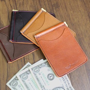 Beast Oil Base Leather Money Clip Maid Japan