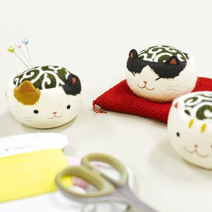 Chigiri Japanese Paper Cat Pincushion