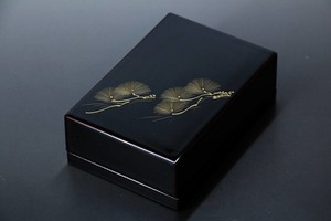Business Card Holder Chinkin Echizen Lacquerware Card Case