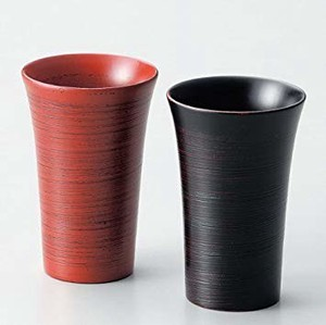 Cup Brush Painting Cup Echizen Lacquerware