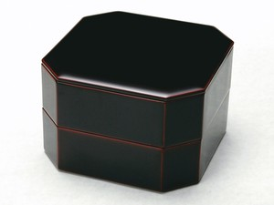 Echizen Lacquerware Wooden Nest Of Boxes