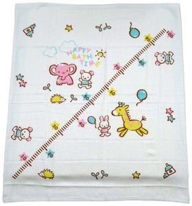 Made in Japan Baby One Side Gauze Square Towel Animal Gauze Towel