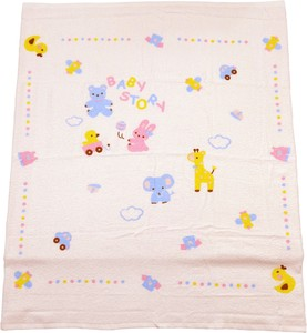 Made in Japan Baby Square Bathing Towel Print 100 100 Gauze Towel