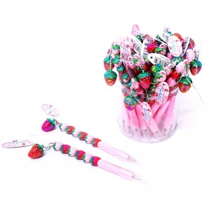 Stationery Stationery Glitter Ballpoint Pen Strawberry pen