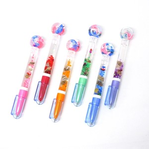 Stationery Stationery Water Shell Attached Ballpoint Pen Dolphin 6 Colors Assort