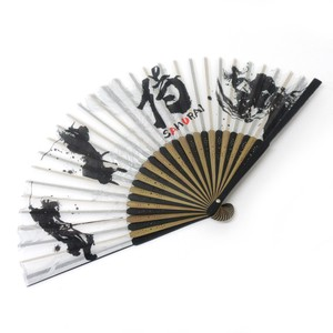 Fashion Accessory Japanese Style Silk Folding Fan 2 Colors