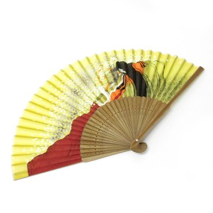 Fashion Accessory Japanese Style Silk Folding Fan