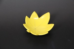 Plate Autumn Leaves Spice Tray Echizen Lacquerware