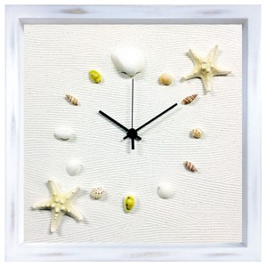 Genuine Finish Wall Clock Shell Clock