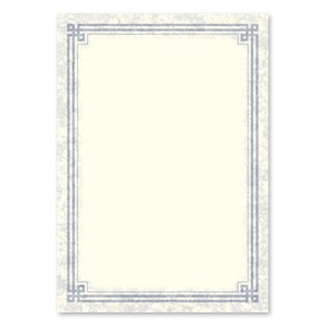 A4 DESIGN PAPER Irish Blue