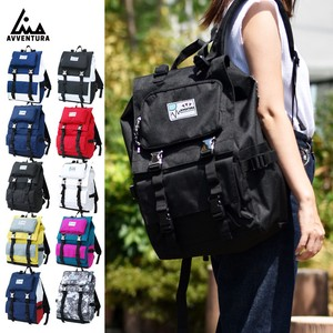Nylon Square Backpack Unisex Outdoor Good
