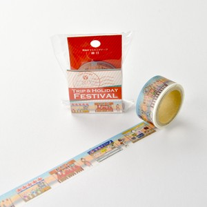 Round Top Washi Tape Yano Design Trip & Holiday