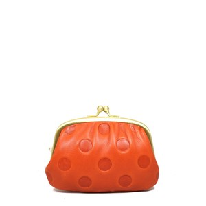 UN SIGNET Leather Dot Coin Purse