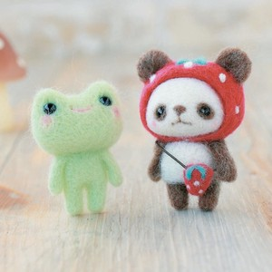 Hat Panda Bear Frog DIY Kit
