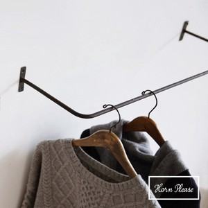 Iron Iron Work Stick Dress Clothes Hanger