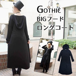 Big Food Long Coat Cloak Gothic Mode Punk Cosplay Halloween Dracula Witch