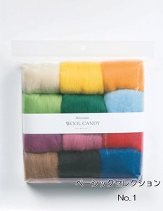 Wool Candy 12 color set Wool