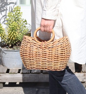 THE AROROG Round Handle Basket Bag