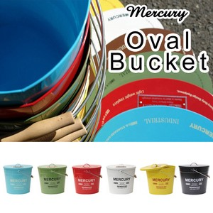 Mercury Tinplate Bucket Oval