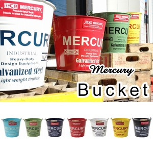Mercury Tinplate Bucket Regular