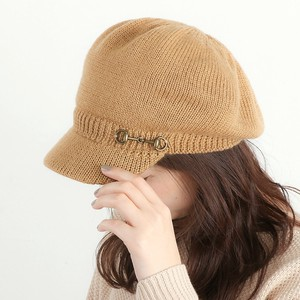 Ladies Men's Buckle Knitted Casquette