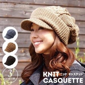 Knitted Casquette