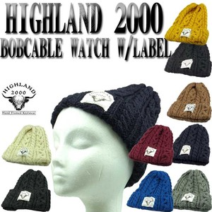 ★秋冬新作♪ HIGHLAND BOBCABLE WATCH WITH LABEL   14975