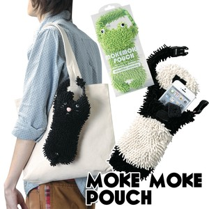 Mokemoke Pouch Animal Animal Cat Panda Bear Pouch Digital Camera Smartphone