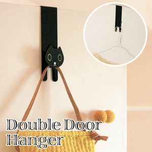 Double Clothes Hanger Hook Cat Interior Animal Animal