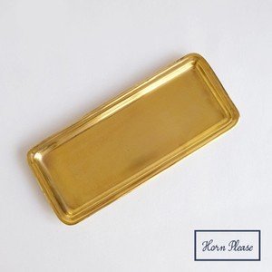 Brass Brass Arrangement Tray Rectangle