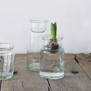 Flower Vase Glass Bottle